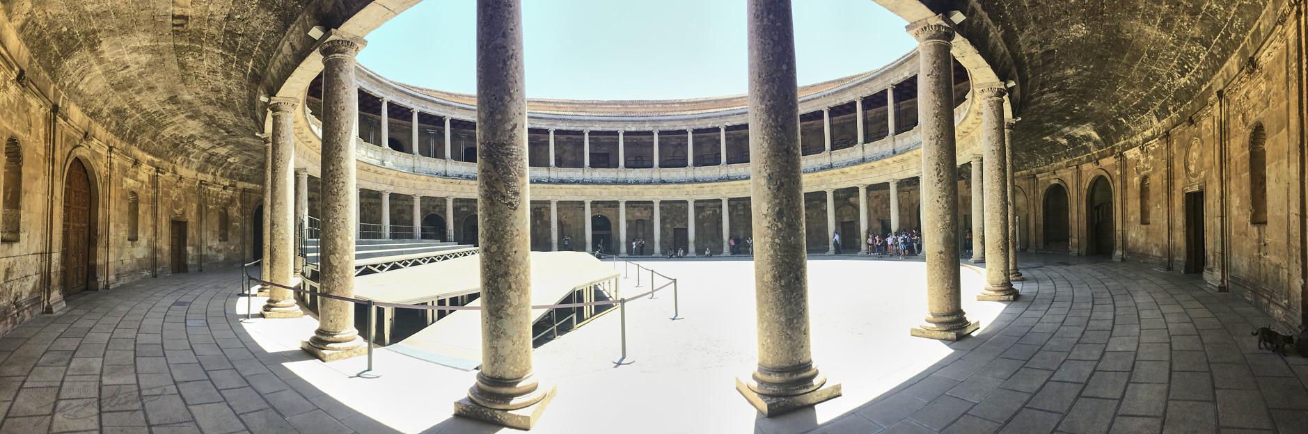 Palacio Carlos V, Granada