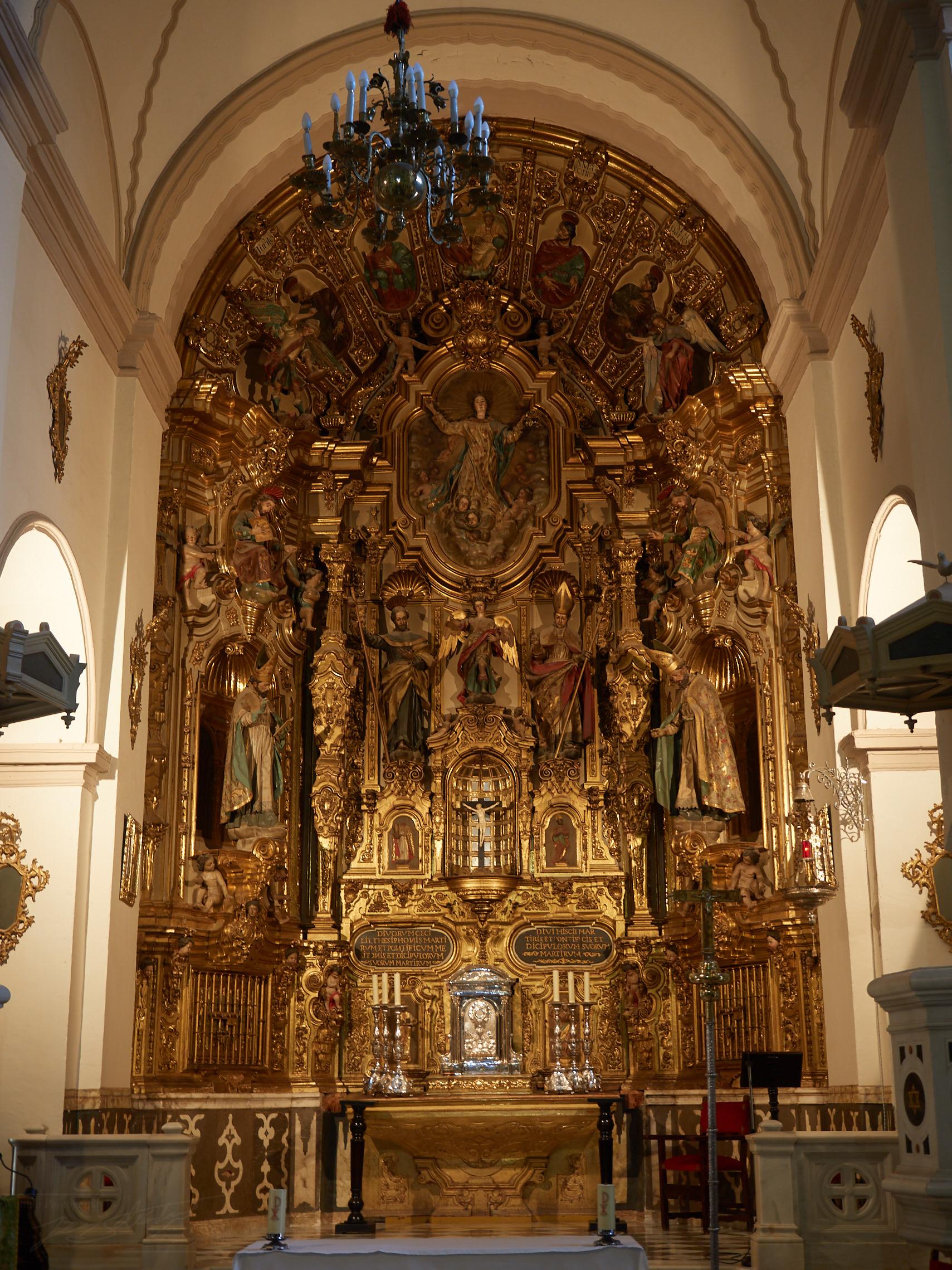Altar der Abadía del Sacromonte
