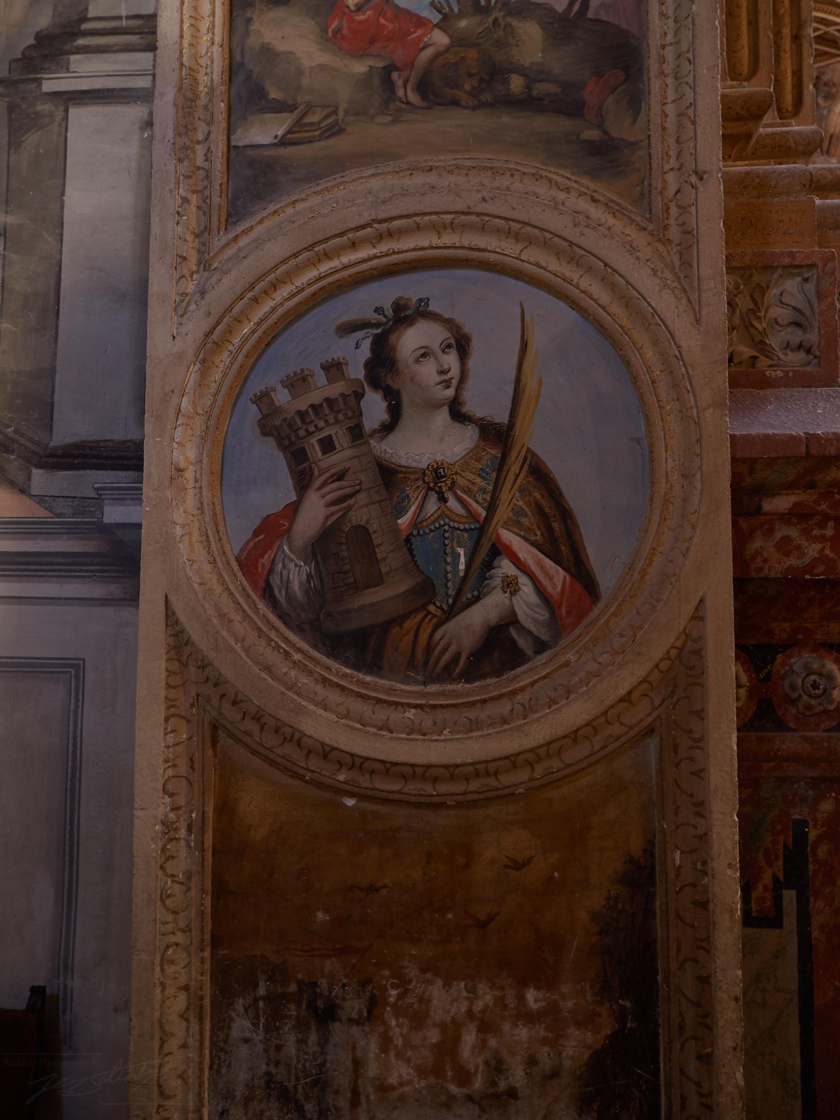 Die Heilige der Schachspieler ?, Monasterio de San Jerónimo