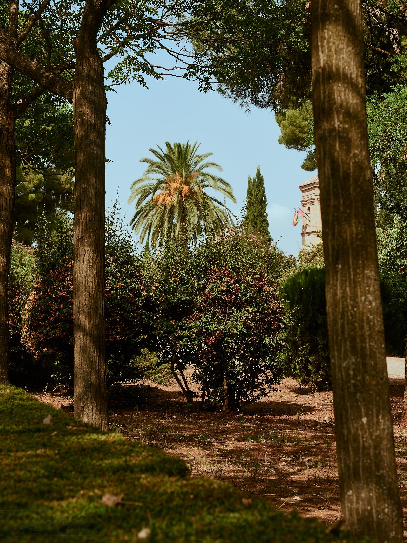 Park in der Medina der Alhambra