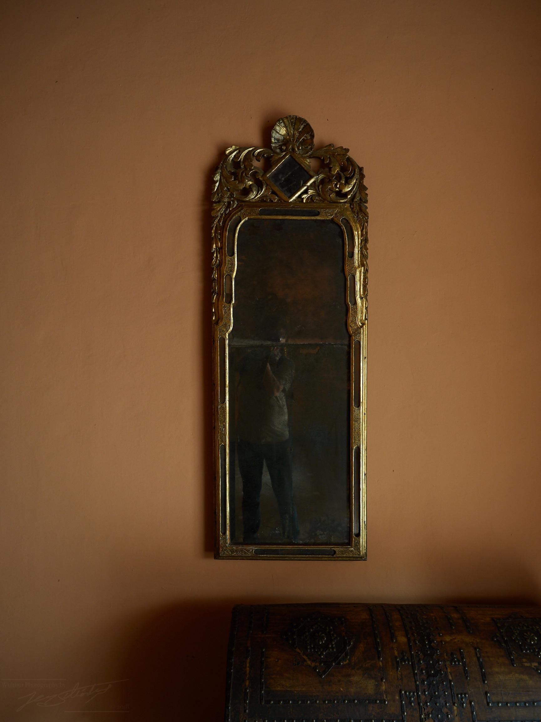 Alter Spiegel im Palacio de los Cordova